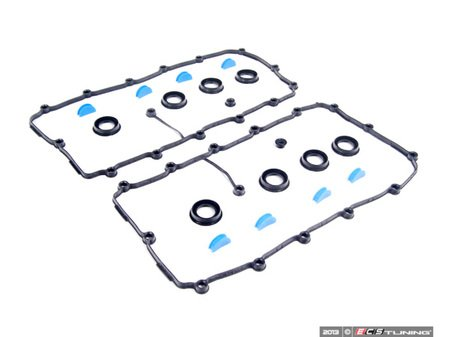 ES#2684748 - 077198025BKT1 - Valve Cover Gasket Set - Left and Right side set - Victor Reinz - Audi