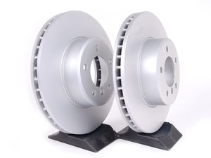 ES#2135707 - 40406021 - Front Brake Rotors - Pair (324x30) - Featuring a protective Meyle Platinum coating. - Meyle - BMW
