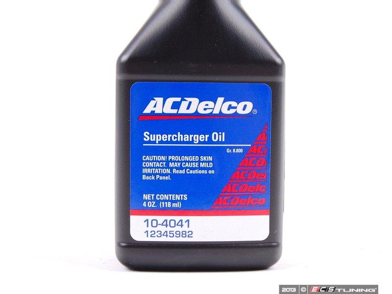Ac Delco 12345982 Supercharger Oil 4oz