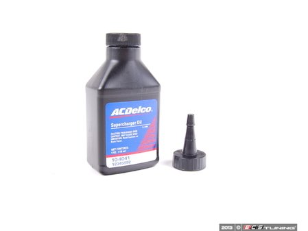 ES#2682241 - 12345982 - Supercharger Oil - 4oz - Your supercharger works hard, keep it lubricated. - AC Delco - MINI