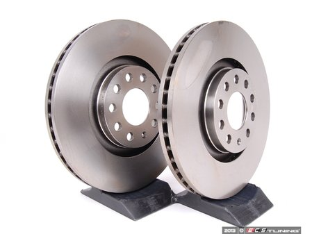 ES#2539238 - 8E0615301AD - Front Brake Rotors - Pair (321x30) - Restore the stopping power in your vehicle - ATE - Audi