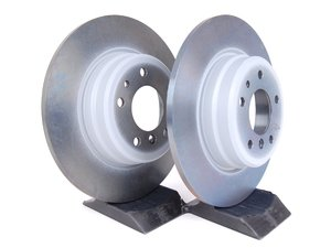 ES#2153949 - 34216757748 - Rear Brake Rotors - Pair (324x12) - Replacement rotors to restore your stopping power - Genuine BMW - BMW