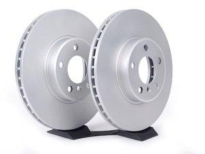 ES#2594245 - 34116794304KT4 - Front Brake Rotors - Pair (332x30) - Featuring a protective Meyle Platinum coating. - Meyle - BMW