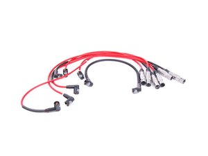ES#7816 - 357998031A-Kar - Red Ignition Wire Set - Prevent misfires or ground outs from having old/worn ignition wires - Karlyn - Volkswagen