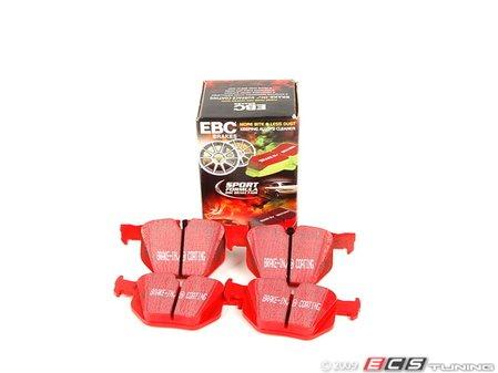 ES#520384 - DP31588C - Rear RedStuff Performance Brake Pad Set - A high performance street pad, featuring Kevlar technology - EBC - BMW