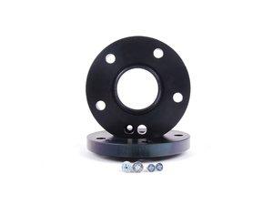 ES#2682293 - 36957161SW - H&R DR Series Black Wheel Spacers - 18mm (1 pair) - Wider is better - H&R - Audi Volkswagen Porsche