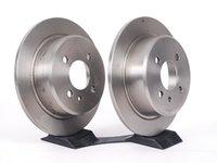 ES#2137007 - 34216755407 - Rear Brake Rotors - Pair (258x10) - Brembo Replacement Rotors - Brembo - BMW