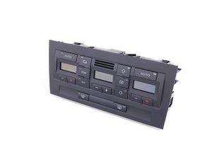ES#438105 - 8E0820043AA5PR - Climate Control Panel - Soul (Black) - Restore control of the heat and a/c - Genuine Volkswagen Audi - Audi
