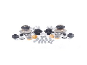 ES#2586384 - E9XCOILOVERINSKT - Cup Kit/Coilover Installation Kit - Everything you need to install coilovers, shocks/struts, or a cup kit including shock mounts - Genuine BMW - BMW