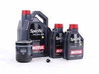 ES#2678578 - 078115561JKT5 - Premium Oil Service Kit - With ECS Magnetic Drain Plug - Includes Mann oil filter and Motul Premium 5w-40 oil - Assembled By ECS - Audi
