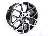 "ES#2695430 - 640-2 - 18"" Style 640 Wheels - Set Of Four - 18""x8"" ET45 5x112 - Black/Machined Face - Alzor - Audi Volkswagen"