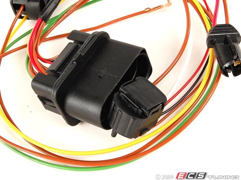 45158_x800 genuine volkswagen audi 3b0971671 headlight wiring harness (3b0