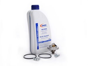 ES#2586806 - 11537511580KT2 - Thermostat Replacement Kit - Includes gaskets and hardware and coolant - Assembled By ECS - BMW