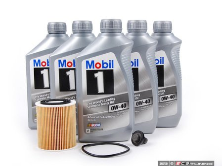 ES#2581332 - 11427512446KT3 - MINI Mobil 1 0w-40 Oil Service Kit Gen 1- Priced As Kit - All in one service for your MINI - Assembled By ECS - MINI