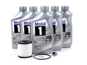 ES#2581338 - 11427622446KT3 - MINI Mobil 1 0w-40 Oil Service Kit Gen 2 - Priced As Kit - All in one service for your MINI - Assembled By ECS - MINI