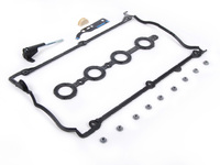 ES#2695709 - 058198025A - Valve Cover Gasket And Chain Tensioner Seal Kit - Everything you need to perform gasket and seal replacement on your 1.8T - Assembled By ECS - Audi Volkswagen