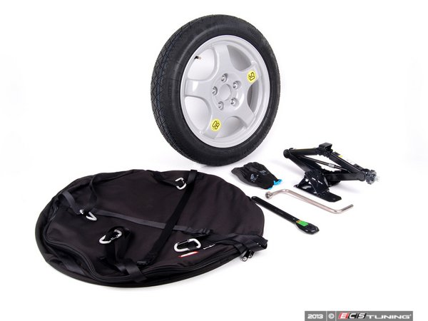 ES#2535349 - 36112159860 - Spare Tire Kit - Add convenience and peace of mind, and ditch the run flats! - Genuine European BMW - BMW