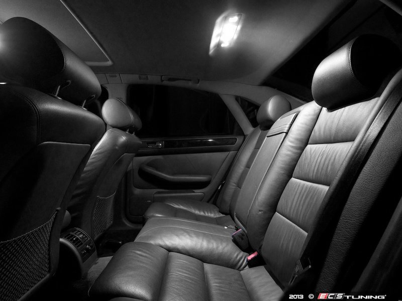 Ecs News Audi C5 A6 Ziza Interior Led Lighting Kits
