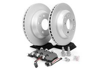 ES#2602251 - 95535240131ROKT - Rear Brake Service Kit - Featuring Meyle rotors and Bosch QuietCast brake pads - Assembled By ECS - Porsche