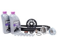 ES#8453 - 06a198501 - ECS Ultimate Plus Timing Belt Kit With Lightweight Crank Pulley - Now with engine seals, motor mount bolts, and coolant - Assembled By ECS - Volkswagen