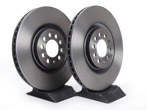 ES#257332 - 8L0698301AKT -  Front Brake Rotors - Pair (312x25) - Quality aftermarket brake components. - Brembo - Audi Volkswagen