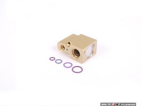 ES#2681217 - 6N0820679C - Expansion Valve Replacement Kit - Expansion valve and necessary o-rings - Assembled By ECS - Volkswagen