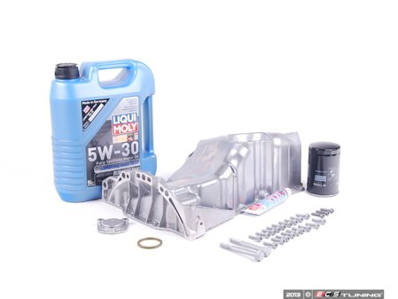 ES#2602979 - 058103598CIN - Oil Pan Installation Kit - Everything needed for a smooth oil pan replacement. - Assembled By ECS - Volkswagen