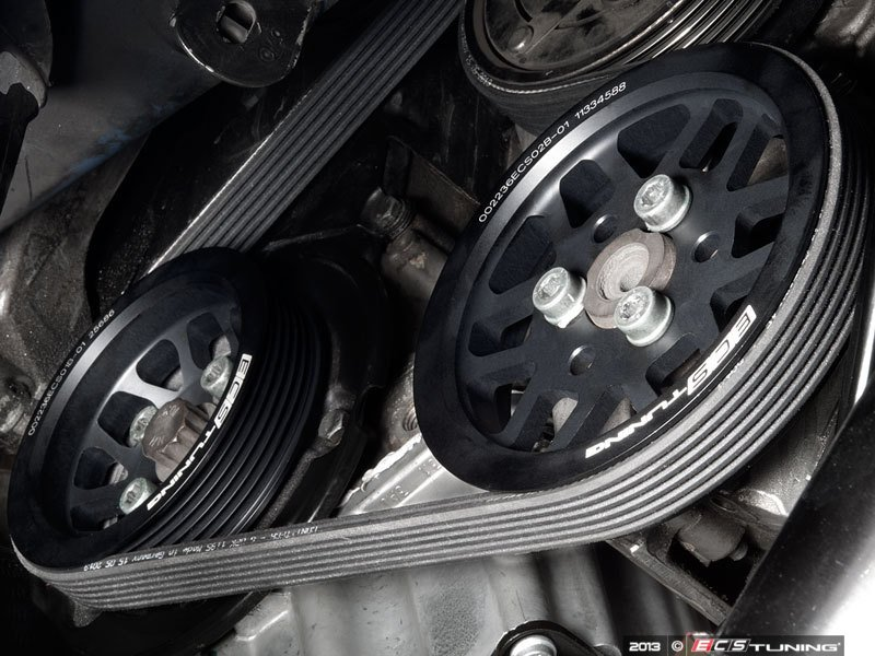 ECS News - ECS Lightweight Underdrive Pulley Sets - MKIV 1.8T