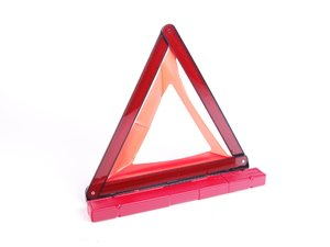 ES#2166182 - 8K0860251 - Pop-Up Emergency Warning Triangle - Keep yourself safe and visible when stuck at the roadside - Genuine Porsche - Porsche