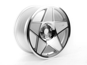 """ES#2635761 - 3S5882CKT - 18"""" Style 0.05 Wheels - Square Set Of Four - 18x8.5"""" ET35 72.6CB 5x120. Polished with silver accents. - 3SDM - BMW"""