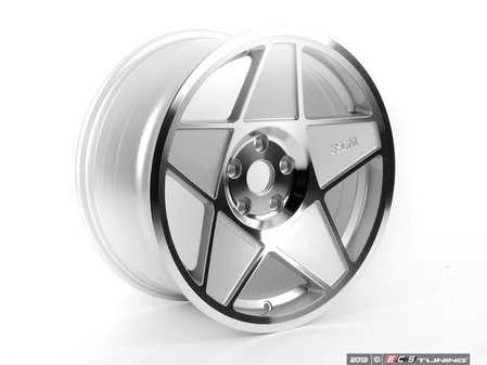 "ES#2635758 - 3S5982CKT - 19"" Style 0.05 Wheels - Square Set Of Four - 19x8.5"" ET35 72.6CB 5x120. Polished with silver accents. - 3SDM - BMW"