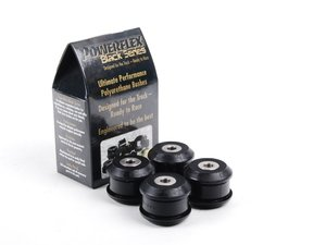 ES#2651410 - PFF3-203Bx4 - Front Upper Control Arm Bushing Set - Inner - Race - Improves handling and control - Upgrade to a more engaging driving experience - Powerflex Black Series - Audi Volkswagen