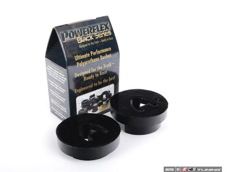 ES#2651546 - PFF5-207B - Race Polyurethane Engine Support Bushing - Large - Stiffer bushings will allow smoother movement - Powerflex Black Series - MINI