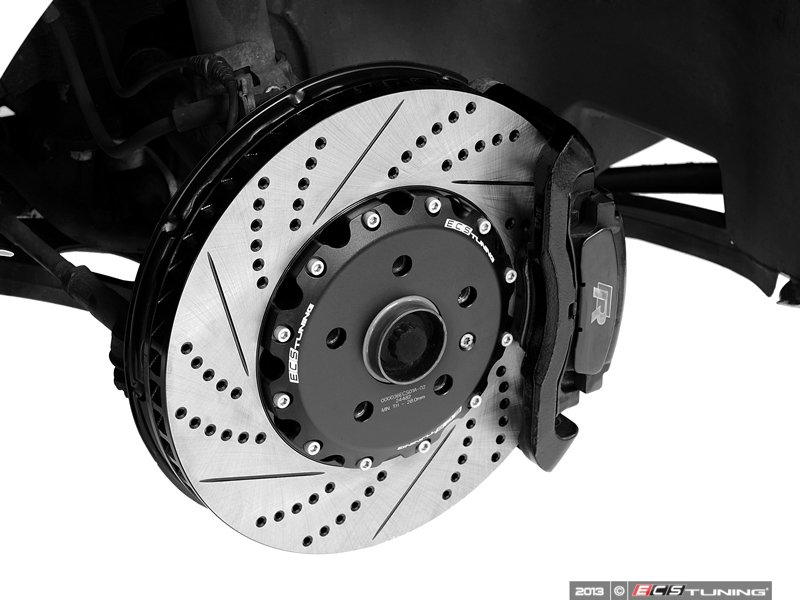 ecs news ecs 2 piece brake rotors for mkvi golf r. Black Bedroom Furniture Sets. Home Design Ideas
