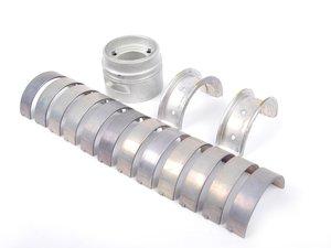 ES#1497588 - 99710190100 - Crankshaft Bearing Set - Includes all main bearings, thrust bearing, and bearing sleeve. - Genuine Porsche - Porsche