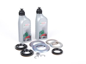 ES#2682142 - E9XDFFKTOE - Differential Service Kit - Everything you need to service your differential - including new gaskets and seals - Genuine BMW - BMW