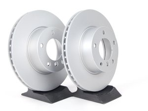 ES#2592666 - 34116854998KT1 - Front Brake Rotors - Pair (300X24) - Featuring a protective Meyle Platinum coating. - Meyle - BMW