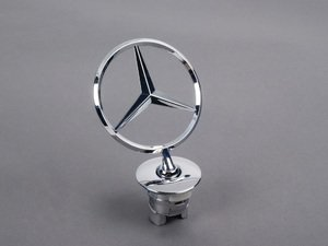 ES#1794588 - 2218800086 - Hood Star - Located on the hood - Genuine Mercedes Benz - Mercedes Benz