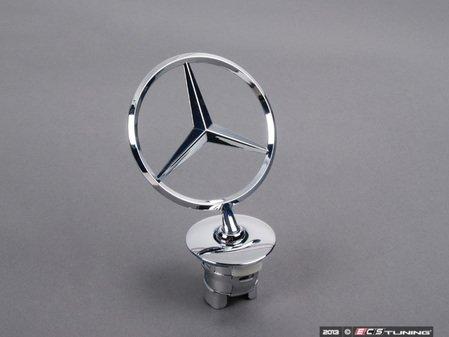 ES#1794588 - 2218800086 - Hood Star - Located on the hood - Genuine Mercedes Benz - Mercedes Benz