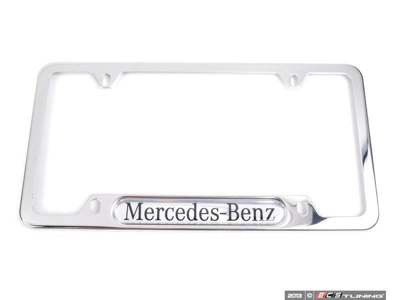 genuine mercedes benz q6880086 license plate frame