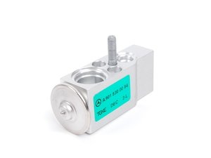 ES#1823902 - 9018300084 -  A/C Expansion Valve - Priced Each - Located where the refrigerant lines connect to the evaporator - Genuine Mercedes Benz - Mercedes Benz