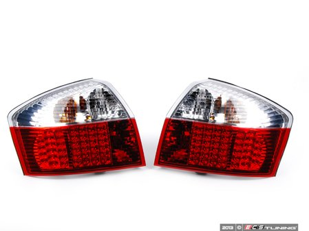 ES#2636219 - FKRLXLAI051 - LED Tail Light Set - Red / Clear - Upgrade your exterior looks - FK - Audi