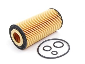 ES#2575544 - 2751800009 - Engine Oil Filter - Priced Each - Contains all needed o-rings for installation - Hengst - Mercedes Benz