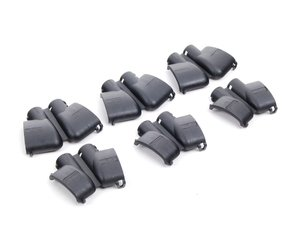 ES#259760 - 022906921 - Ignition Coil Cover Set - Black - Set Of 6 - Replace your damaged, or faded coil connector covers with this new complete set. - Genuine Volkswagen Audi - Audi Volkswagen
