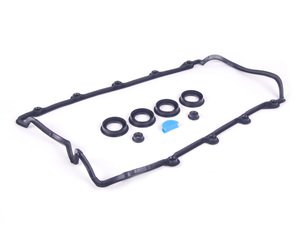 ES#3193 - 077198025A - Valve Cover Gasket Set - Priced Each - Fits the left or right side - Victor Reinz - Audi Volkswagen