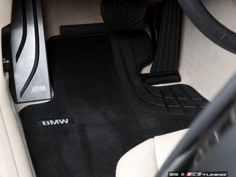 Genuine Bmw 51472293352 Base Line Front Carpeted Floor Mat Set 51 47 2 293 352
