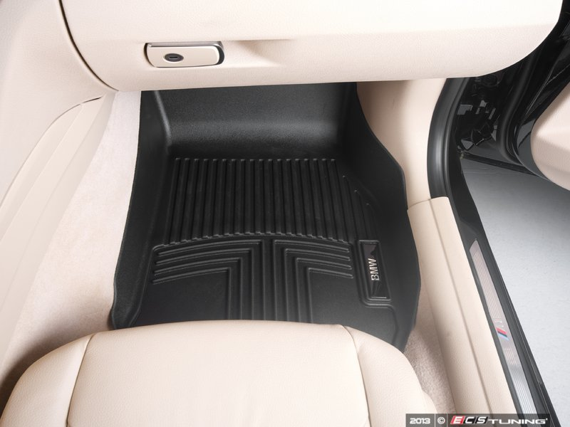 Connected Essentials 5022410 Tailored Custom Fit Rubber Car Mats BMW 3 Series Touring F31 2013- Black