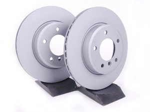ES#1866545 - 34116855152kt4 - Front Brake Rotors - Pair (300x22) - Coat Z- Anti-corrosion - Zimmermann - BMW