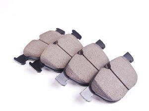 ES#2681436 - 34116852253 - Front Euro Ceramic Brake Pad Set - Offers excellent pedal feedback, low dust, and smooth initial bite. A favorite among BMW enthusiasts. - Akebono - BMW