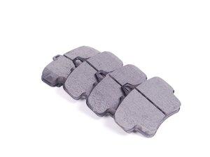 ES#2581234 - 99735294800 - Rear Euro Ceramic Brake Pad Set - EURO Ceramic brake pads - Includes shims - Akebono - Porsche